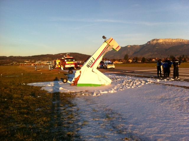 Accident D Avion A Meythet